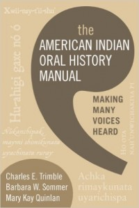 american indian oral history manual